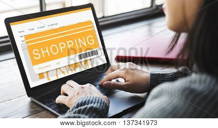 Shopping Online Sale Shopper Shopaholics Concept