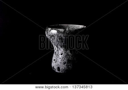 Smoking accessories hookah bowl, coals, tobacco, mouthpiece