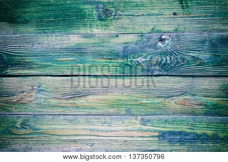 Wood texture. background green old panels. Wallpaper
