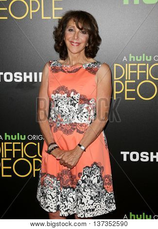 NEW YORK-JUL 30: Actress Andrea Martin attends the Hulu Original Premiere of 'Difficult People' at the SVA Theater on July 30, 2015 in New York City.