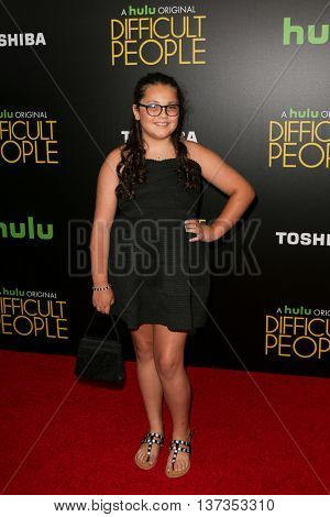 NEW YORK-JUL 30: Actress Dahlia White attends the Hulu Original Premiere of 'Difficult People' at the SVA Theater on July 30, 2015 in New York City.