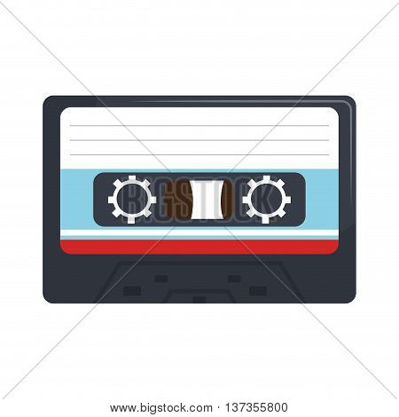 Stereo cassete vintage design, vector illustration graphic design.