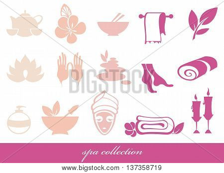 Spa icons set. web icon set - Spa & Beauty
