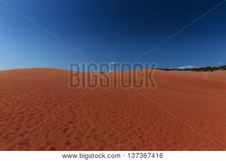 Red Sand Dunes Mui Ne Villiage, Vietnam