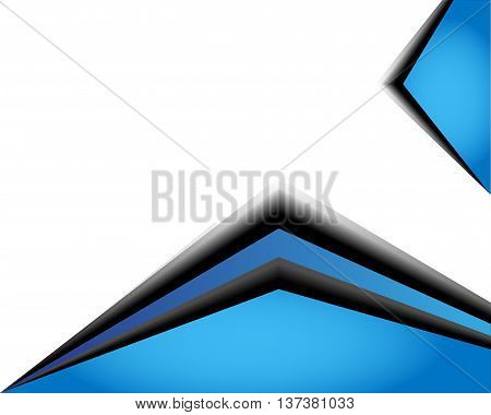 vector background angle triangle dimension 3d overlap orange green blue graphic message board for text and message design frame line shadow for modern web design