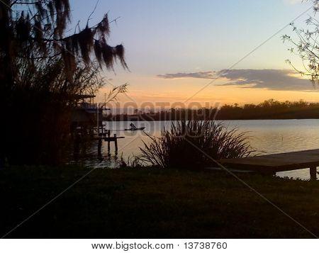 Bayou Sunset 4