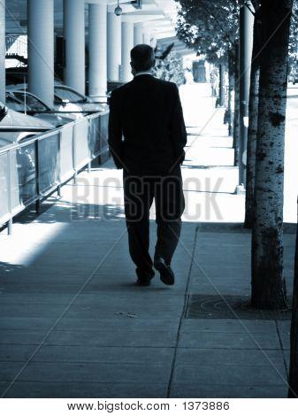 Business Man Strolling