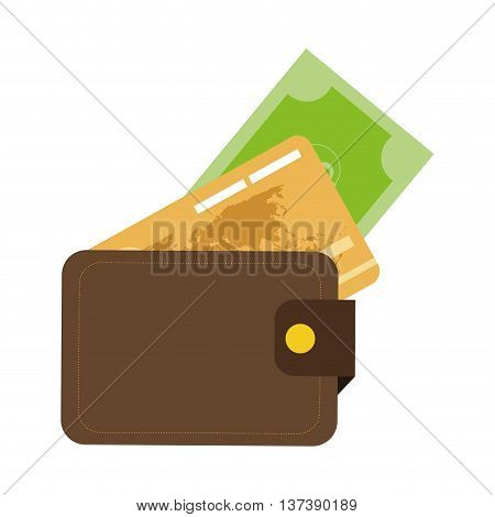 simple flat design credit or debit cards icon vector illustration