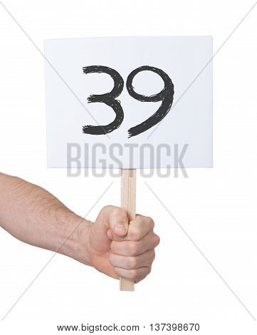 Sign With A Number, 39