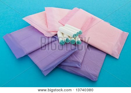 Sanitary Napkins And Tampons
