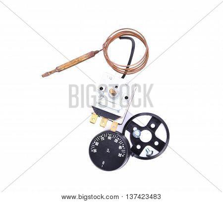 thermostat kit isolate on white background .