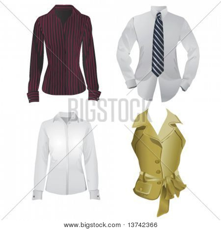 business fashion vector