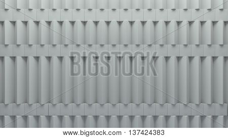 abstract rectangular and box elements background with randomly rotated elements 3d render or boxes and rectangles with fillet edges