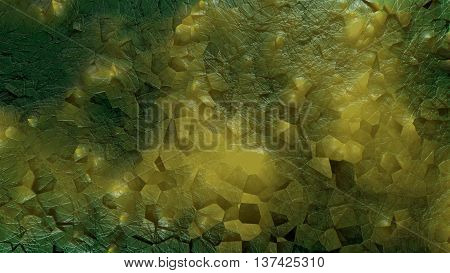 3d render of abstract organic mold structure