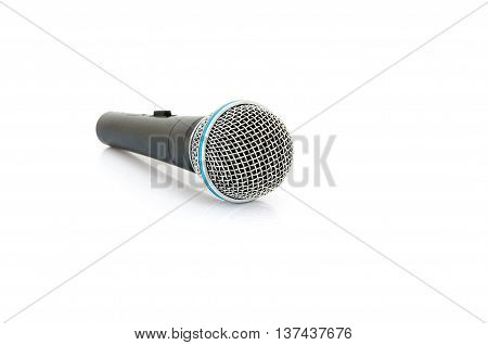 Microphone isolate on a White Background. mic.