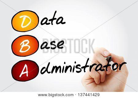 Dba - Database Administrator