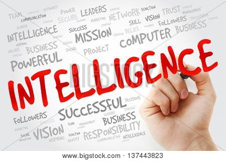 Hand Writing Intelligence With Marker