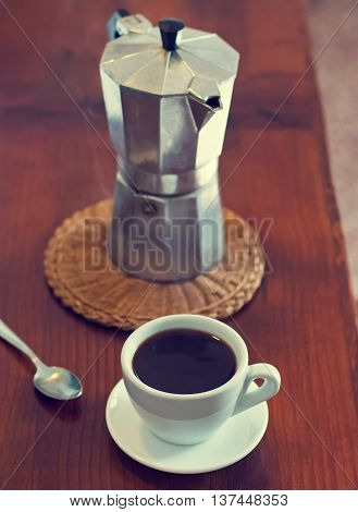 Coffee And Geyser Coffee Maker,