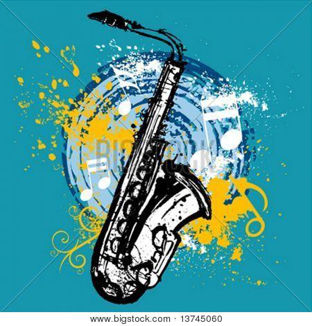 saxophone design