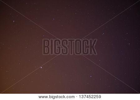 Background Starry Sky