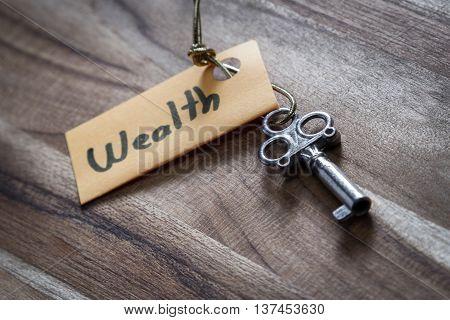 Secret Key For A Wealthy Life