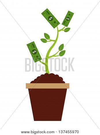 plant bills  isolated icon design, vector illustration  graphic