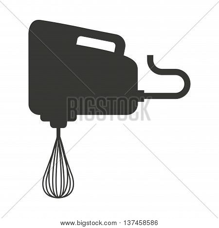 electric mixer isolated icon design, vector illustration  graphic