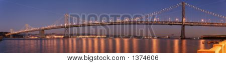 Bay Bridge, San Francisco Panorama
