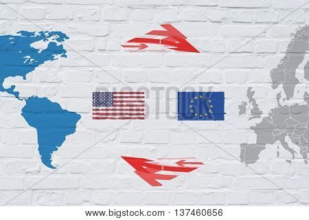 TTIP Transatlantic Trade and Investment Partnership US and Europe