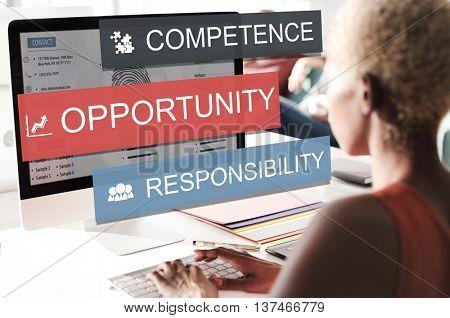Opportunity Chance Choice Option Decision Decide Concept