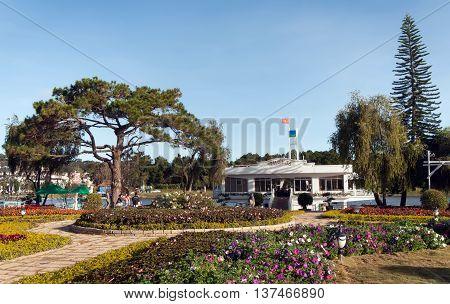 DA Lat, Vietnam, June 24, 2016 resorts, parks Da Lat, Lam Dong, Vietnam