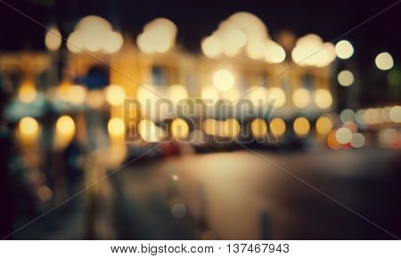 Bokeh Blur Bright Abstract Blink Festive Glowing Concept