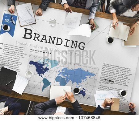 Branding Copyright Label Marketing Trademark Concept
