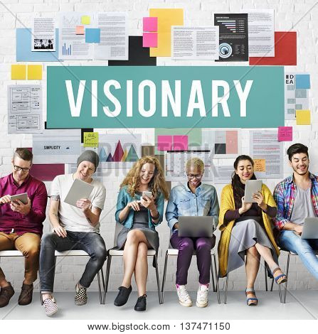 Visionary Aspirations Creativity Imagination Concept