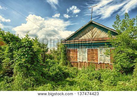 Abandoned Wooden Cottage