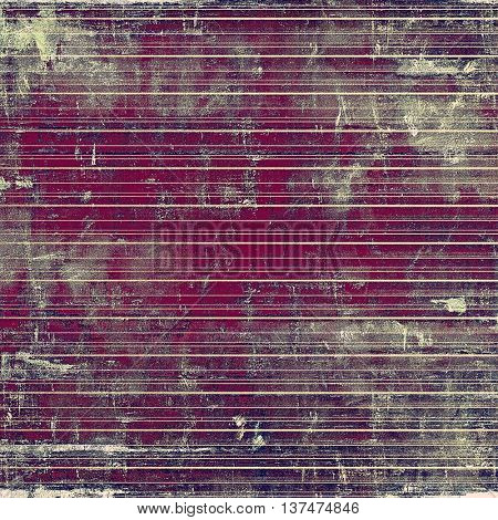 Creative elegant design used as retro background for your art project. With grunge texture and different color patterns: blue; gray; purple (violet); pink