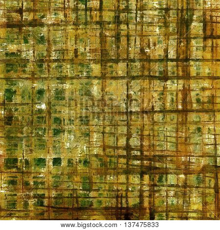 Retro abstract background, vintage grunge texture with different color patterns: yellow (beige); brown; green; gray