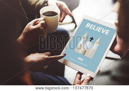 Believe Belief Faith Imagination Mystery Mindset Concept