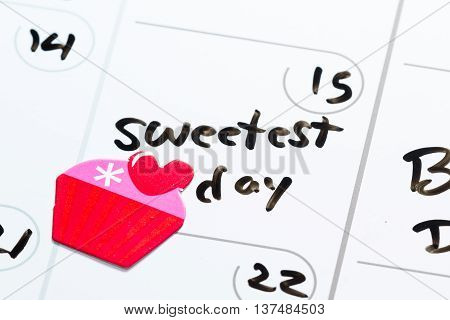 October 15, Sweetest Day