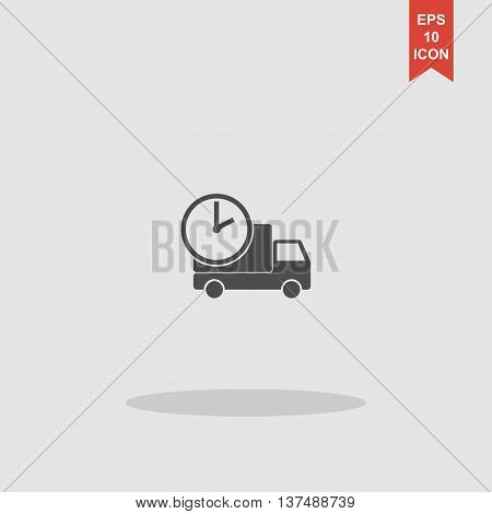 Home Delivery, Web Icon. Vector Design