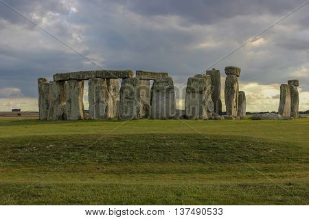 sunset over Stonehenge United Kingdom, England Attractions