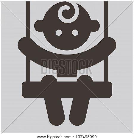 Kids activities - the vector illustration icon