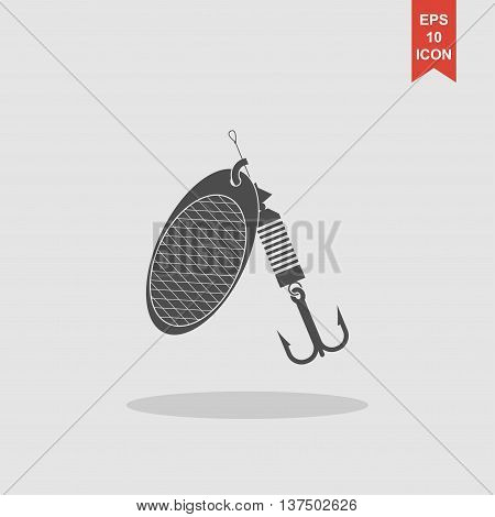 Fishing Baits. Vector Concept Illustration For Design
