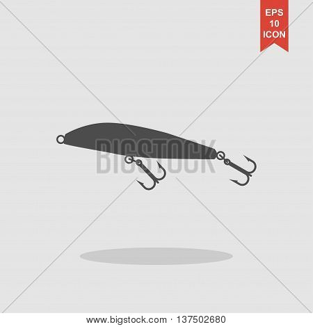 Fishing Wobbler. Vector Concept Illustration For Design