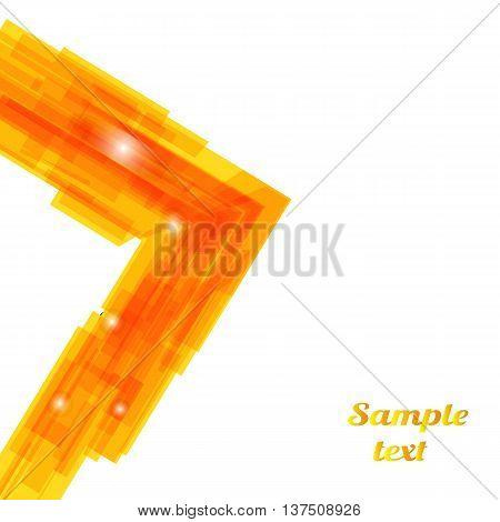 Business Technology Background. Vector illustration for presentations