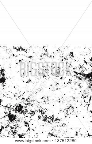 Distress Grainy Dark Overlay Texture For Your Design. EPS10 vector.