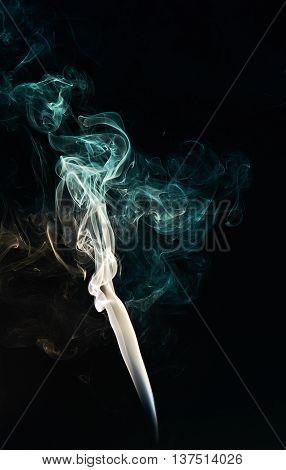 Abstact Smoke Curve