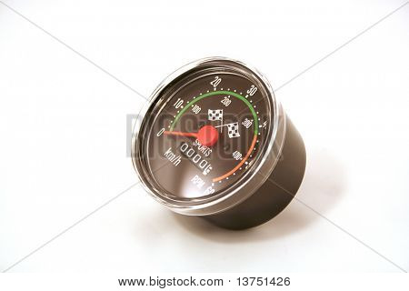 A speedometer in KMH
