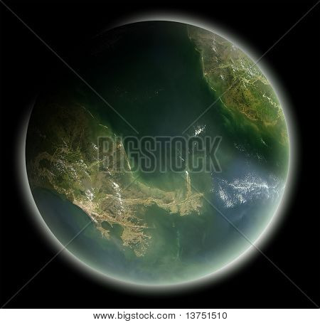 A earth like planet