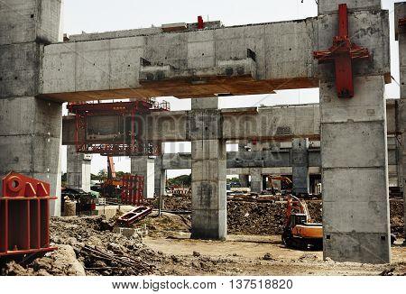 Construction Architect Engineer Estate Hardhat Concept